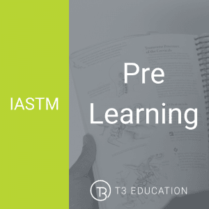 IASTM pre learning